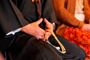Hands Holding Rosary