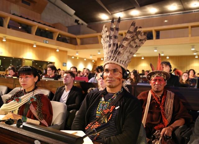 Ashaninka tribal leaders - Peru